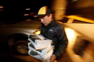 Courty of Jerry McBride/Durango Herald Mark Esper reports, writes and edits the Silverton Standard & the Miner. He also delivers the paper, which he used to pick up every Thursday before sunrise from the dock at The Durango Herald building. The paper is now printed in Montrose.