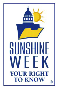 Sunshine Week logo vertical