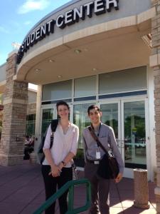 Allison Dyer Bluemel and Adrian Garcia