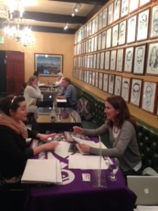 Thirty-five students from six schools participated in the Society of Professional JournalistsColorado Pro Chapter college student internship and job fair on Feb. 19 at the Denver Press Club. The event was for underclassmen seeking summer internships and for May graduates interviewing for jobs.